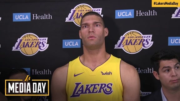 2017 Media Day: Brook Lopez