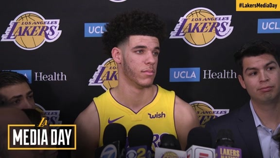 2017 Media Day: Lonzo Ball