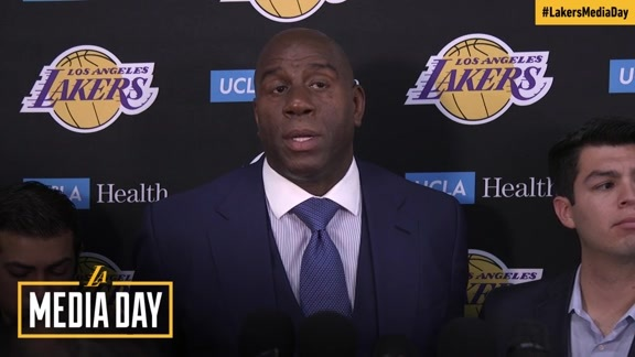 2017 Media Day: Magic Johnson