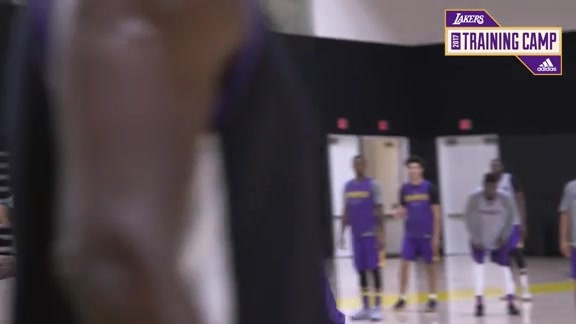 Training Camp Day 11: Brook Lopez