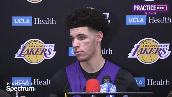 Practice Report: Lonzo Ball (10/16/17)