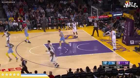 Bogut's Follow Slam
