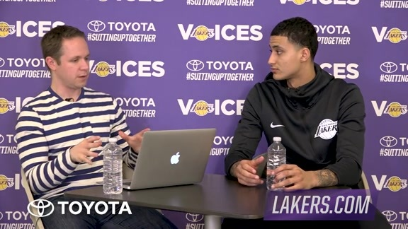 Lakers Voices: Kyle Kuzma