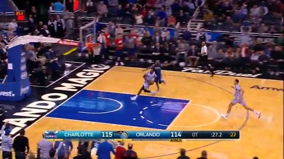 2015-16 Best Defensive Plays: Oladipo Steal and Slam