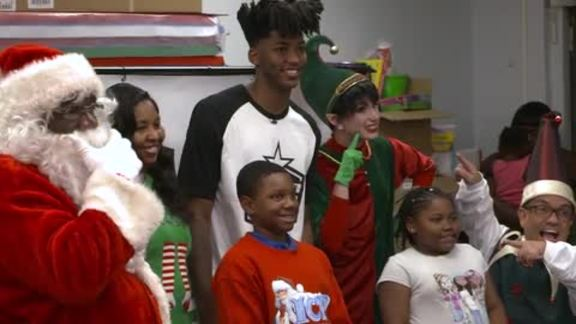 Payton Hosts Second Annual Elf's Toy Workshop Celebration