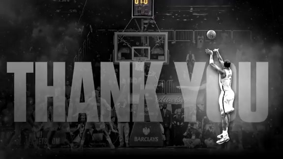 Thank You Joe Johnson | Brooklyn Nets