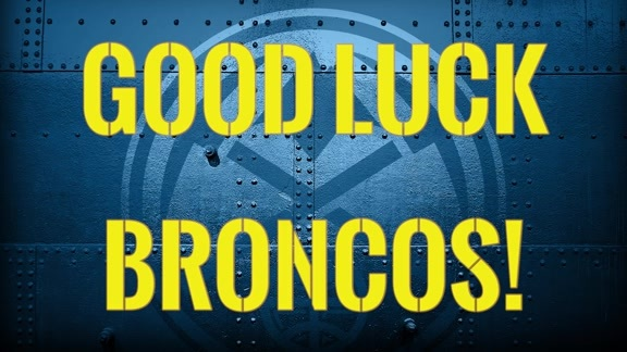 Nuggets Wish Broncos Luck