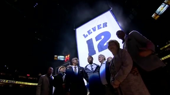 Fat Lever Jersey Retirement