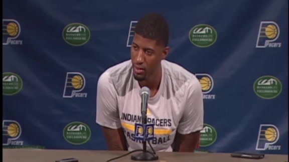 Media Day: Paul George Press Conference