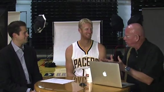 Chase Budinger on How he Fits With The Pacers