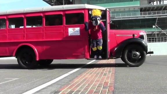 Boomer and Co. Take the Town in the Hickory Bus