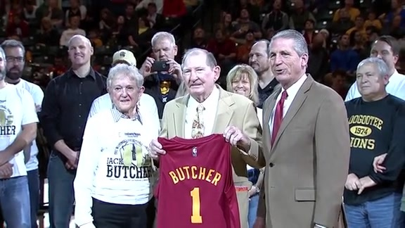 Pacers Hickory Honoree Jack Butcher