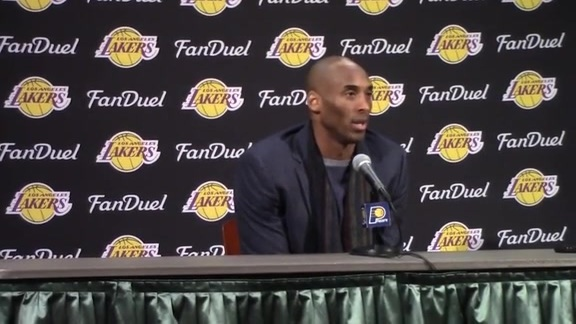 Postgame Wrap Up: Pacers-Lakers 160208