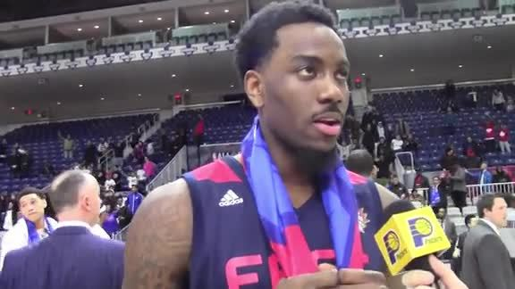 Rakeem Christmas on his First D-League All-Star Game