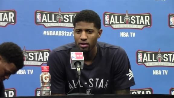 Postgame: Paul George on Record-Breaking All-Star Performance
