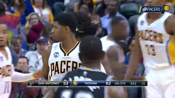 PG Drops 23 on the Spurs