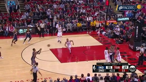 Paul George Hits Fifth 3-Pointer in Third Quarter (Game 5)