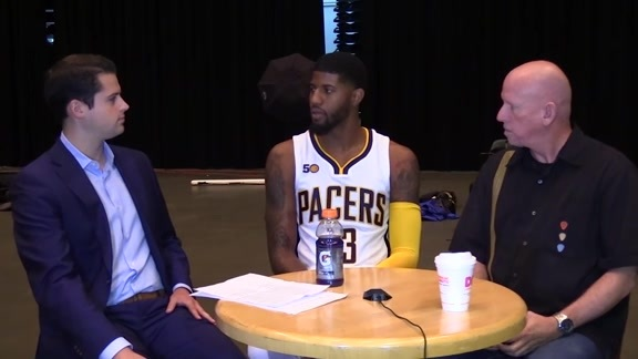 Media Day 2016: Paul George Joins Boylan and Boyle to Talk 2016-17