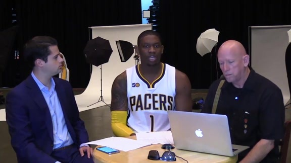 Media Day 2016: Kevin Seraphin