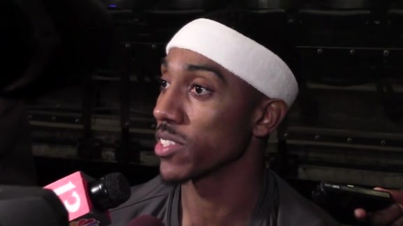 Media Day 2016: Jeff Teague Meets with the Media