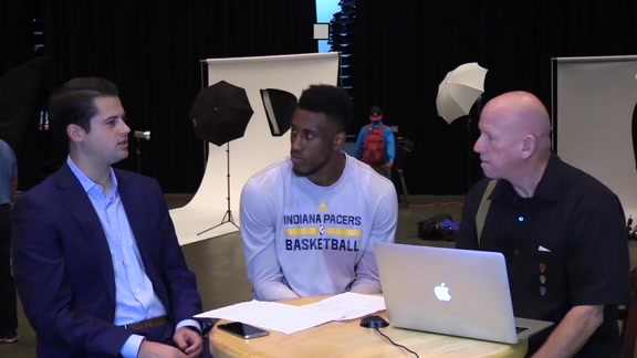 Media Day 2016: Thad Young