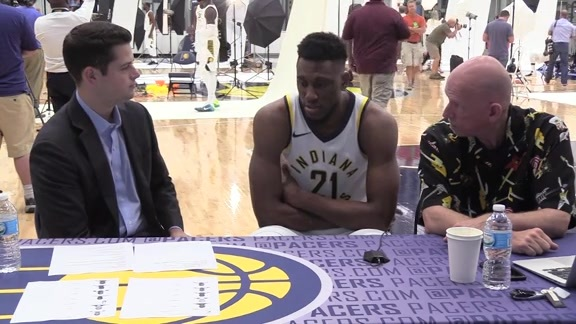 Media Day 2017: Thaddeus Young