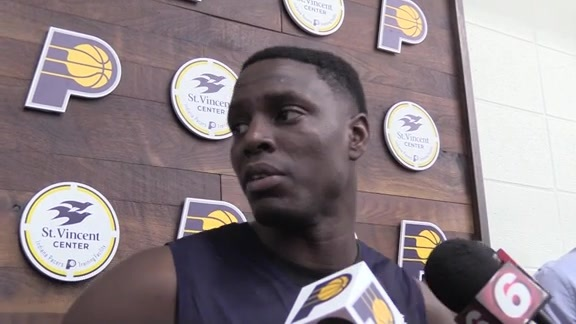 Collison on First Impressions from Training Camp
