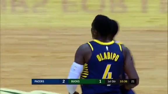 Oladipo Scores in Transition