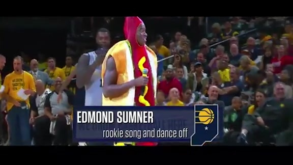 Edmond Sumner's Rookie Show Performance
