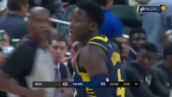 Oladipo Drops 22 Points in Pacers Debut