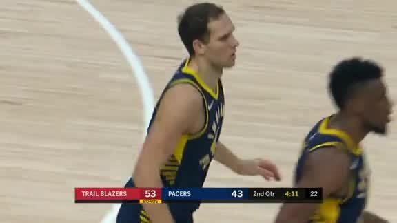 Bogdanovic Hits From Beyond the Arc