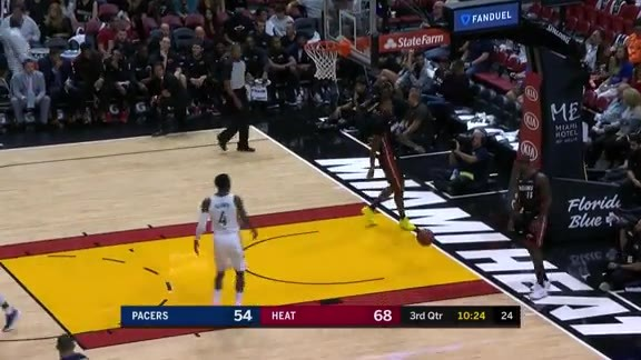 Pacers Convert Off Steal