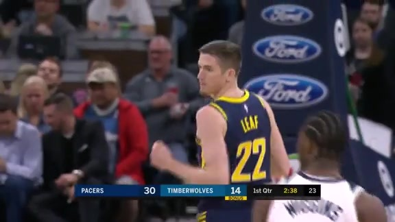 Lance Dishes to TJ