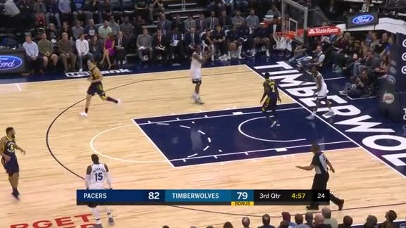 Pacers Hustle for the Basket