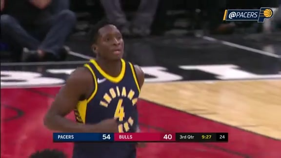 Oladipo Posts 25-6-6 in Chicago