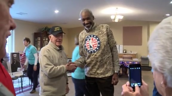 Hoops for Troops Commitment to Service Day