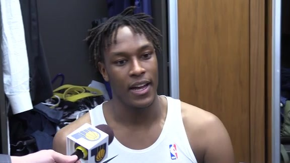 Postgame: Pacers Locker Room - Dec. 6, 2017