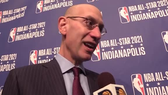 Adam Silver Talks About Bringing The All-Star Game To Indy