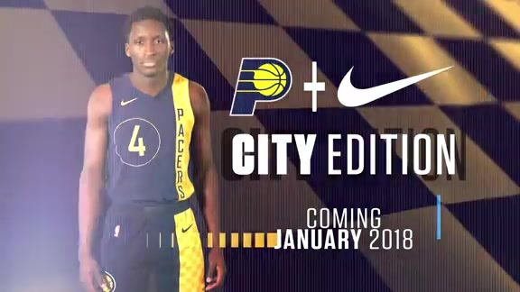 Pacers City Edition Uniforms Embody the Racing Spirit