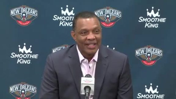 Alvin Gentry Post Draft Press Conference 6-24-16