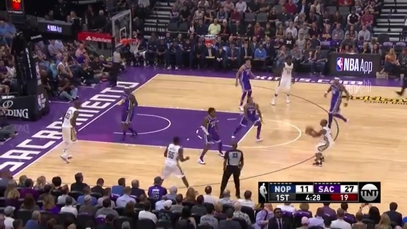 Jameer Nelson Hits 11 in First Quarter