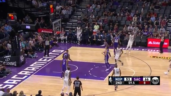 DeMarcus Cousins Has 20 Points 9 Rebounds In First Half