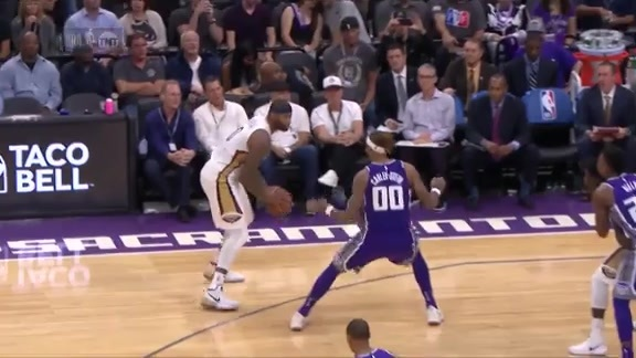 DeMarcus Cousins Leads The Way To A Win
