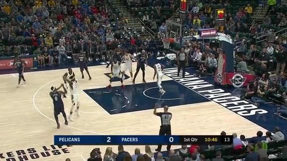 Davis and Cousins Hit Early From the Arc