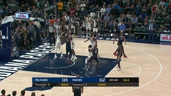 DeMarcus Cousins Tips in the Rebound to Seal Win