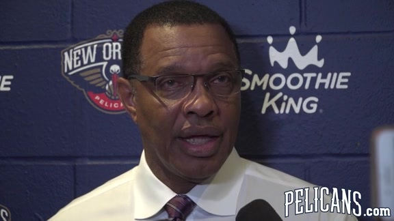 Pelicans vs Clippers Postgame: Alvin Gentry 11-11-17