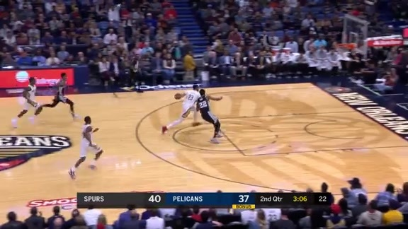 Davis finishes off a steal