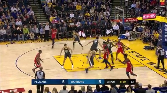 Jrue Holiday scores 11 points in the first 5