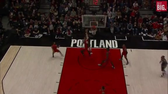 DeMarcus Cousins off the dribble