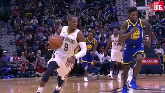 Rondo with the steal and assist